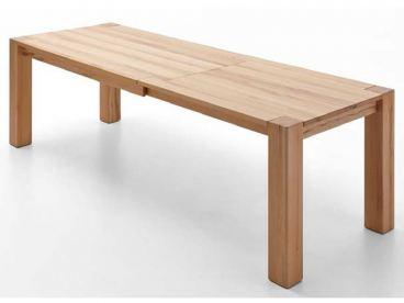 Niehoff Ausziehtisch Tavoli 5433 in Massivholz mit Rollen und Gestellauszug Tisch mit durchgestoßenen Füßen Ausführung wählbar