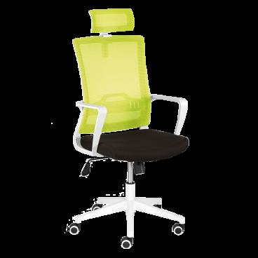 Bürostuhl Rehstuhl Schwarzgrün Ausführung Kopfstütze Kopfstütze Ausführung Bürostuhl HE2WD9I