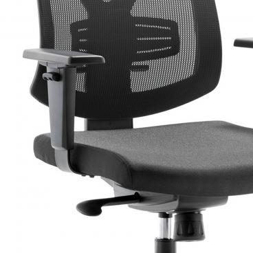 Mayer Sitzmöbel Bürostuhl myFuturio 2375 Bezug schwarz Drehstuhl höhenverstellbar für Arbeitszimmer und Büro