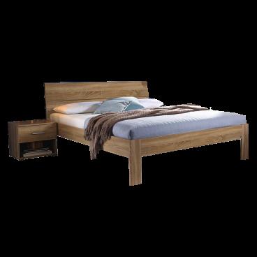 Rauch Packs Flexx Bett In Dekor Druck Eiche Sonoma Liegeflache Wahlbar Optional Mit Passenden Nachttisch Und Kommode
