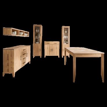 Skalik Meble Mido Esszimmer Tisch Sideboard Kommode Wandregal Vitrinen