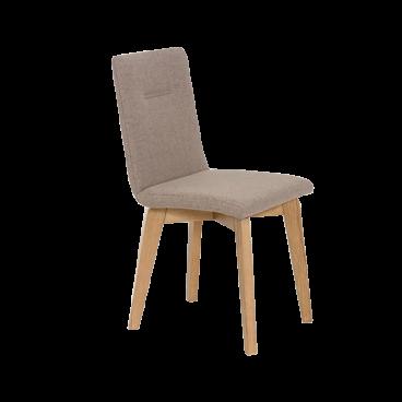 Standard mit 1 Fuß in Stuhl Quernaht Esszimmer Ontario Furniture mit Massivholz für 4 Gestell Polsterstuhl OXkuZiP