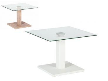 Kostenlose Lieferung Ins Deutsche Festland Vierhaus Couchtisch E1819  Glas Tischplatte Ca. 60x60 Cm, Mit ECO Lift Höhenverstellbar