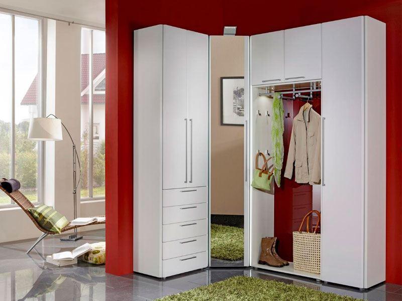 Wittenbreder Entree Komplette Garderobe In Weiss Lack Gunstig Online
