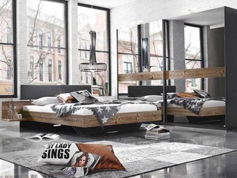 Rauch Select Montreal Schlafzimmer Schwebeturenschrank Bett Larche Natur