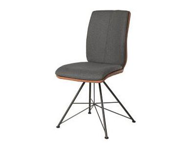 bert plantagie zweifarbiger polsterstuhl mit drehfu. Black Bedroom Furniture Sets. Home Design Ideas